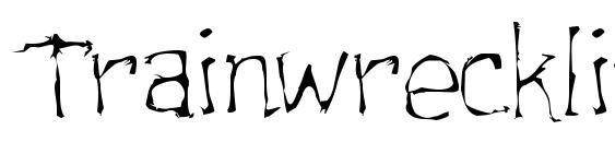 Trainwrecklite Font