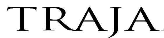 Trajan Normal Ex Font