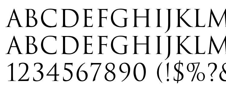 глифы шрифта Trajan Regular, символы шрифта Trajan Regular, символьная карта шрифта Trajan Regular, предварительный просмотр шрифта Trajan Regular, алфавит шрифта Trajan Regular, шрифт Trajan Regular