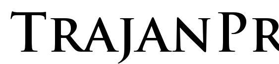 TrajanPro Bold Font