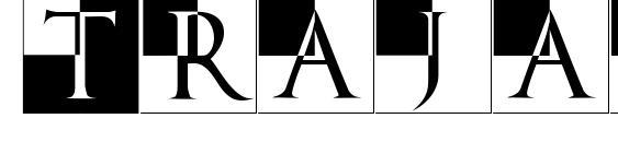 Trajanusbricksxtra font, free Trajanusbricksxtra font, preview Trajanusbricksxtra font