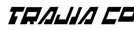 шрифт Trajia Condensed Italic, бесплатный шрифт Trajia Condensed Italic, предварительный просмотр шрифта Trajia Condensed Italic