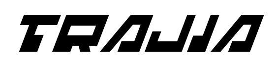 Trajia Italic Font