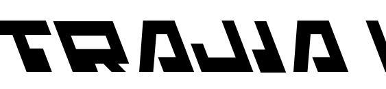 Шрифт Trajia Leftalic