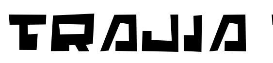 Шрифт Trajia Trash