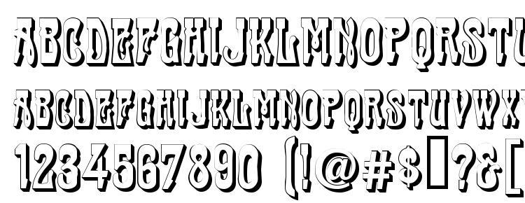 глифы шрифта Traktir Modern 3 D, символы шрифта Traktir Modern 3 D, символьная карта шрифта Traktir Modern 3 D, предварительный просмотр шрифта Traktir Modern 3 D, алфавит шрифта Traktir Modern 3 D, шрифт Traktir Modern 3 D