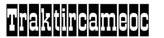 Traktircameoc Font