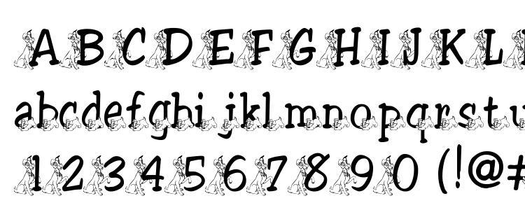 глифы шрифта Tramp, символы шрифта Tramp, символьная карта шрифта Tramp, предварительный просмотр шрифта Tramp, алфавит шрифта Tramp, шрифт Tramp