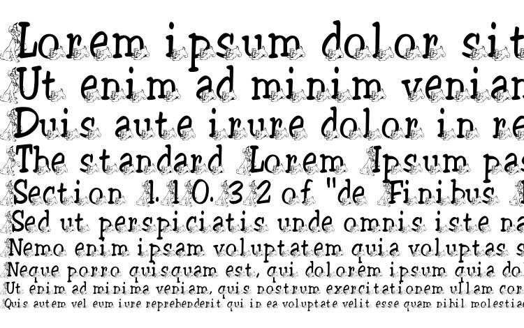 образцы шрифта Tramp, образец шрифта Tramp, пример написания шрифта Tramp, просмотр шрифта Tramp, предосмотр шрифта Tramp, шрифт Tramp