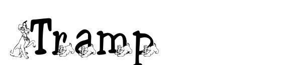 Шрифт Tramp