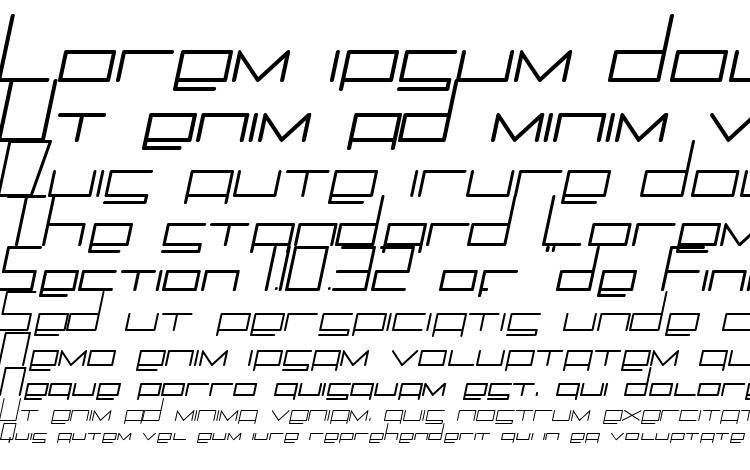 specimens Trancemili font, sample Trancemili font, an example of writing Trancemili font, review Trancemili font, preview Trancemili font, Trancemili font