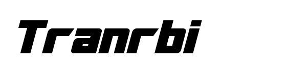 Шрифт Tranrbi
