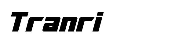 Шрифт Tranri