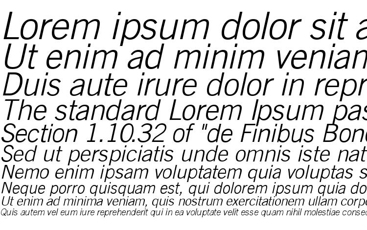 specimens TransferGothic Light Italic font, sample TransferGothic Light Italic font, an example of writing TransferGothic Light Italic font, review TransferGothic Light Italic font, preview TransferGothic Light Italic font, TransferGothic Light Italic font