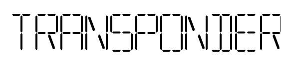 Transponder aoe Font