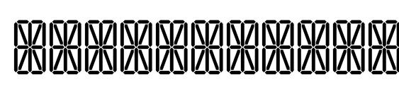 Шрифт Transponder grid aoe
