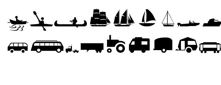 glyphs Transportmt font, сharacters Transportmt font, symbols Transportmt font, character map Transportmt font, preview Transportmt font, abc Transportmt font, Transportmt font