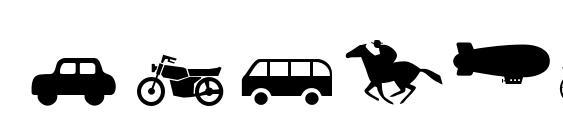 Transportmt Font