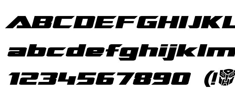 глифы шрифта Transrobotics extended bold italic, символы шрифта Transrobotics extended bold italic, символьная карта шрифта Transrobotics extended bold italic, предварительный просмотр шрифта Transrobotics extended bold italic, алфавит шрифта Transrobotics extended bold italic, шрифт Transrobotics extended bold italic