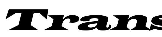Transverseexpandedssk italic font, free Transverseexpandedssk italic font, preview Transverseexpandedssk italic font