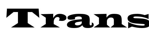 Transversessk font, free Transversessk font, preview Transversessk font