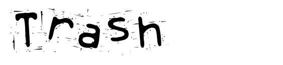Trash Font