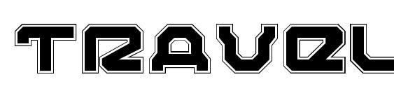 Traveler Pro font, free Traveler Pro font, preview Traveler Pro font