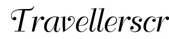 Шрифт Travellerscript