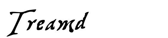 Шрифт Treamd