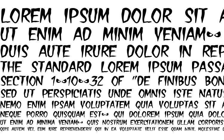 specimens Treasure font, sample Treasure font, an example of writing Treasure font, review Treasure font, preview Treasure font, Treasure font