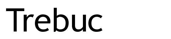 Шрифт Trebuc