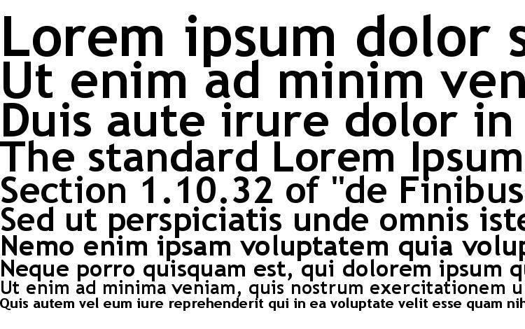 specimens Trebucbd font, sample Trebucbd font, an example of writing Trebucbd font, review Trebucbd font, preview Trebucbd font, Trebucbd font