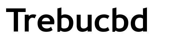 Trebucbd Font