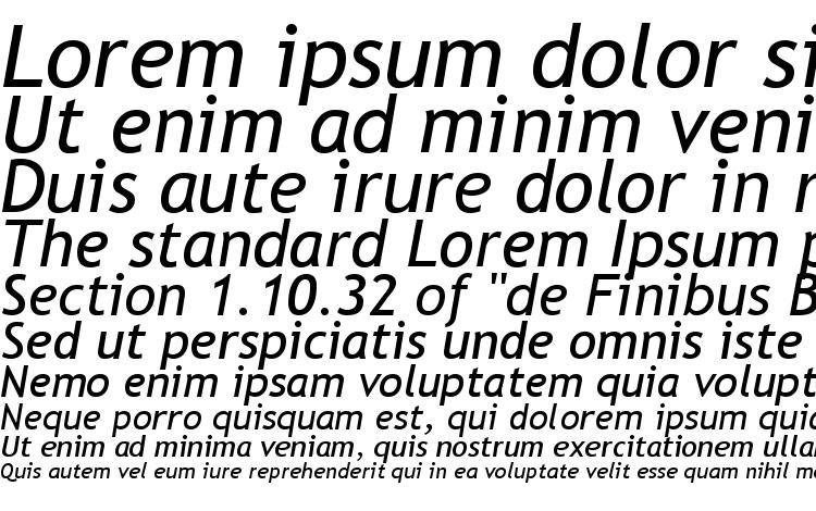 specimens Trebuchet MS Курсив font, sample Trebuchet MS Курсив font, an example of writing Trebuchet MS Курсив font, review Trebuchet MS Курсив font, preview Trebuchet MS Курсив font, Trebuchet MS Курсив font