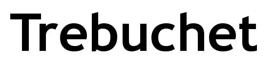 Trebuchet MS Полужирный Font