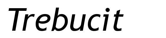 Шрифт Trebucit