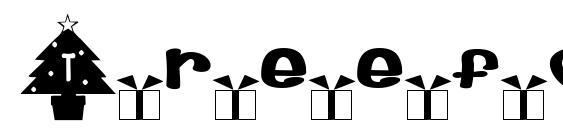 Шрифт Treefont