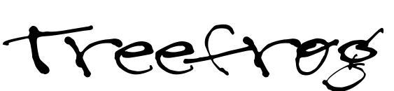 шрифт Treefrog, бесплатный шрифт Treefrog, предварительный просмотр шрифта Treefrog