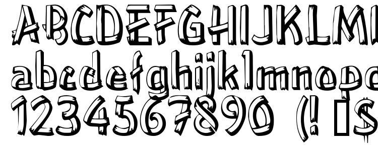 глифы шрифта Treehouse, символы шрифта Treehouse, символьная карта шрифта Treehouse, предварительный просмотр шрифта Treehouse, алфавит шрифта Treehouse, шрифт Treehouse
