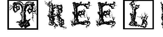 Шрифт TreeLike