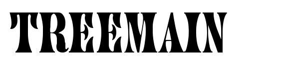 Treemain font, free Treemain font, preview Treemain font