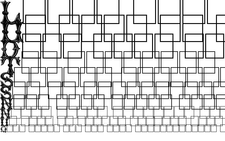 specimens TrefoilCapitals font, sample TrefoilCapitals font, an example of writing TrefoilCapitals font, review TrefoilCapitals font, preview TrefoilCapitals font, TrefoilCapitals font