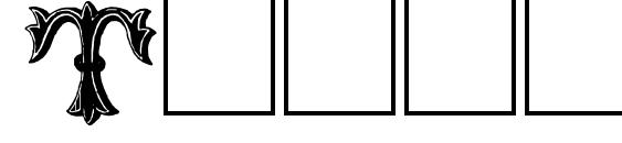 Шрифт TrefoilCapitals