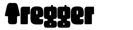 Шрифт Tregger