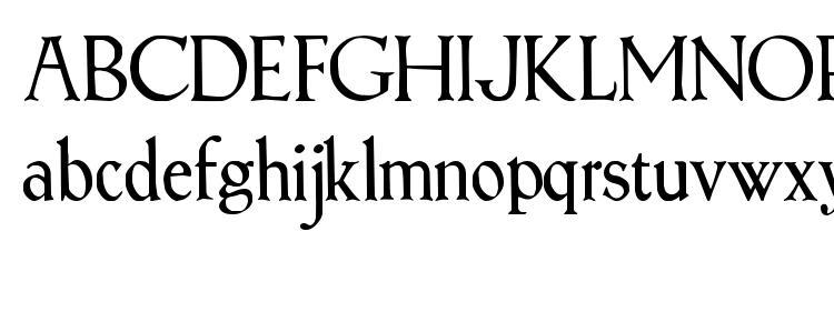 глифы шрифта Treglonou, символы шрифта Treglonou, символьная карта шрифта Treglonou, предварительный просмотр шрифта Treglonou, алфавит шрифта Treglonou, шрифт Treglonou