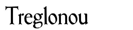 Шрифт Treglonou