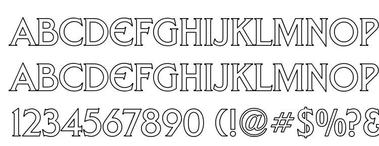 glyphs Trek DS9 Hollow font, сharacters Trek DS9 Hollow font, symbols Trek DS9 Hollow font, character map Trek DS9 Hollow font, preview Trek DS9 Hollow font, abc Trek DS9 Hollow font, Trek DS9 Hollow font