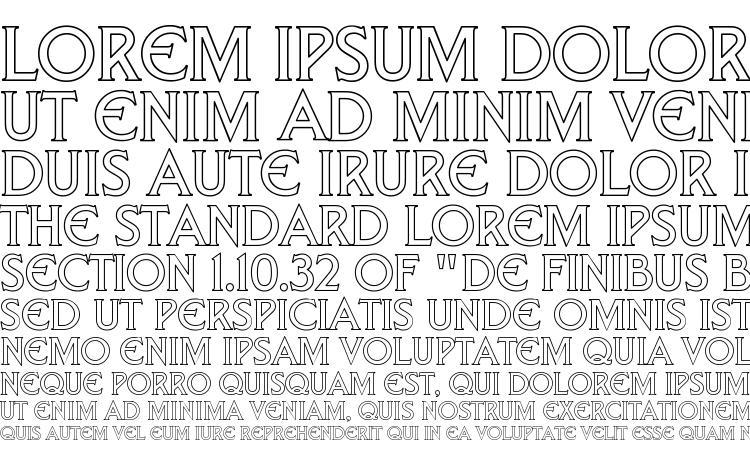 specimens Trek DS9 Hollow font, sample Trek DS9 Hollow font, an example of writing Trek DS9 Hollow font, review Trek DS9 Hollow font, preview Trek DS9 Hollow font, Trek DS9 Hollow font
