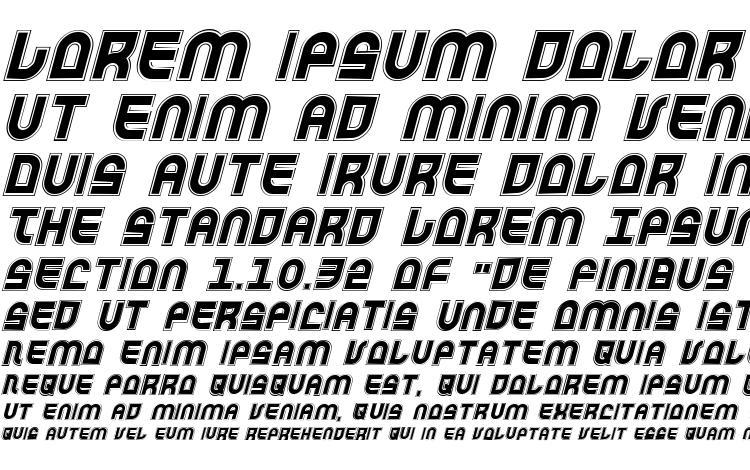 specimens Trek Trooper Academy Italic font, sample Trek Trooper Academy Italic font, an example of writing Trek Trooper Academy Italic font, review Trek Trooper Academy Italic font, preview Trek Trooper Academy Italic font, Trek Trooper Academy Italic font