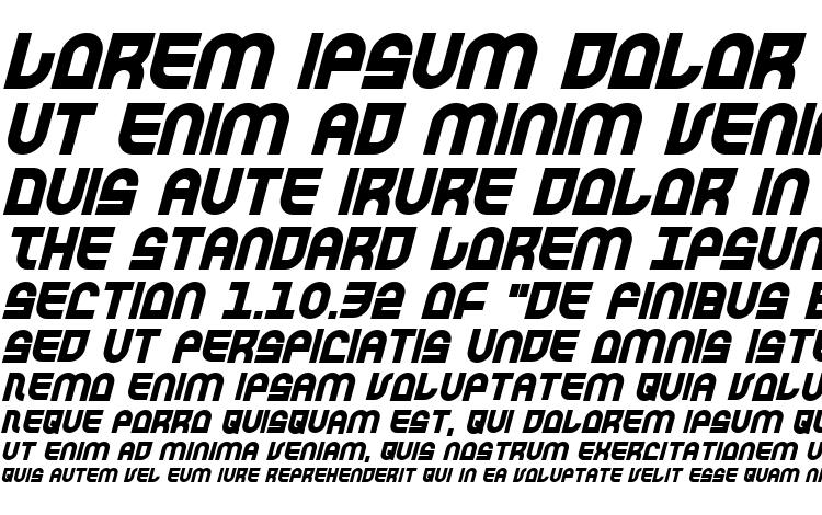образцы шрифта Trek Trooper Bold Italic, образец шрифта Trek Trooper Bold Italic, пример написания шрифта Trek Trooper Bold Italic, просмотр шрифта Trek Trooper Bold Italic, предосмотр шрифта Trek Trooper Bold Italic, шрифт Trek Trooper Bold Italic